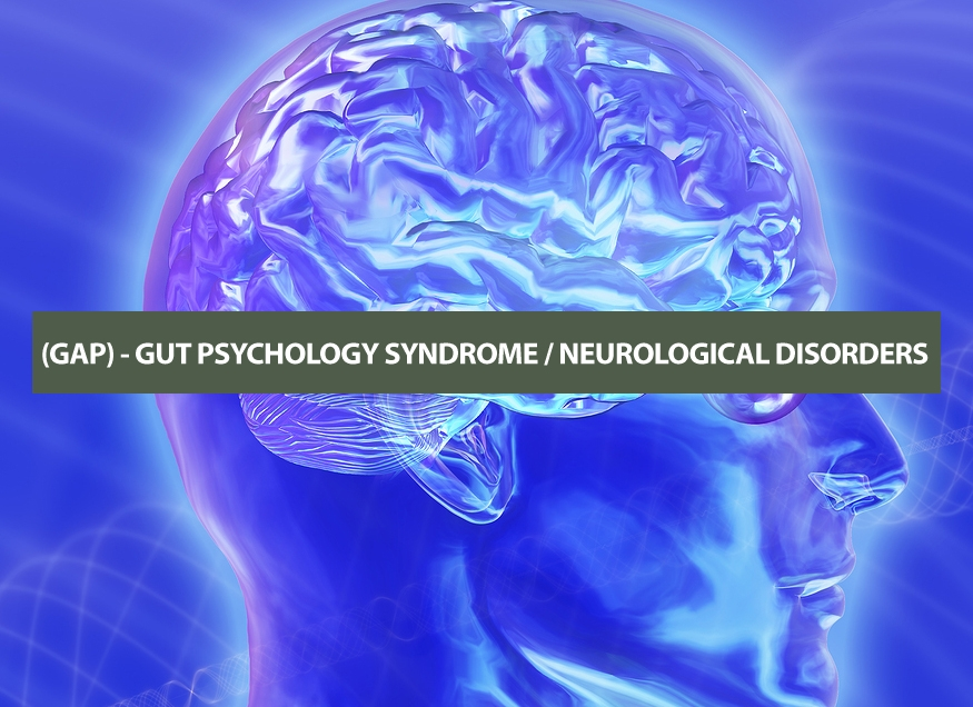 (GAP) - GUT PSYCHOLOGY SYNDROME / NEUROLOGICAL DISORDERS